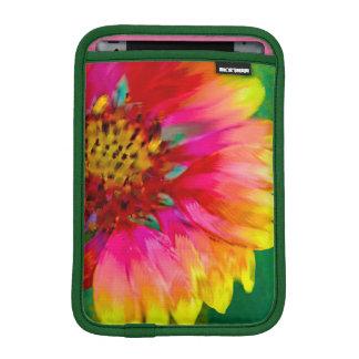Artistic rendition of Indian Blanket flower iPad Mini Sleeves