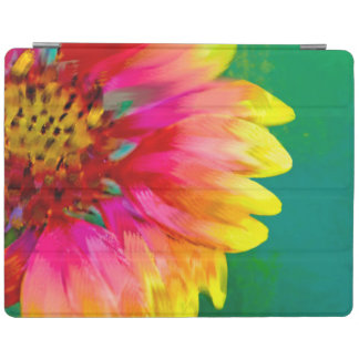 Artistic rendition of Indian Blanket flower iPad Smart Cover