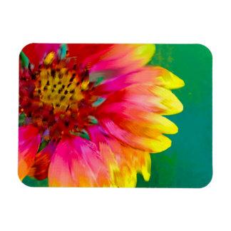 Artistic rendition of Indian Blanket flower Magnet