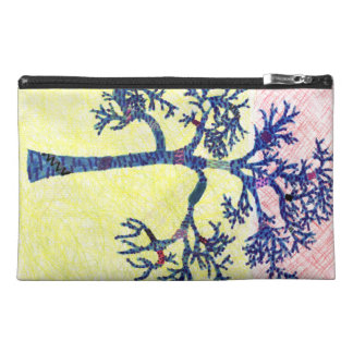 Artistic Sad Colorful Emotional Tree Drawing Travel Accessory Bag