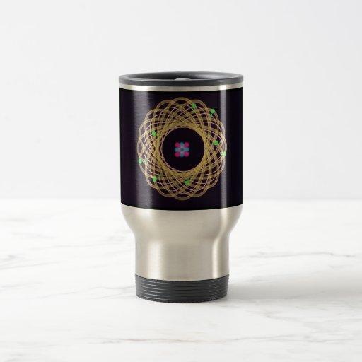 Artistic Science Atom Design Mug