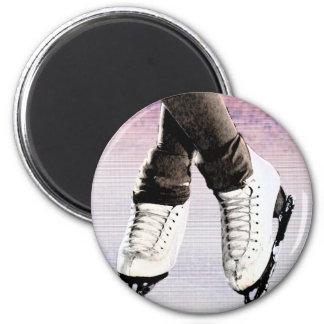 Artistic Skates 2 Inch Round Magnet
