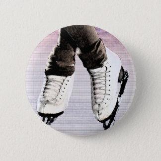 Artistic Skates Pinback Button