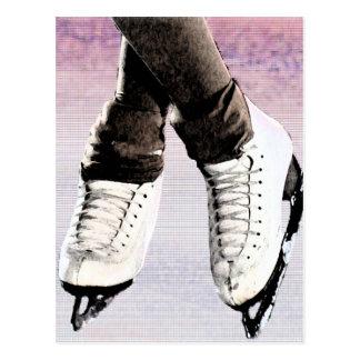 Artistic Skates Postcard