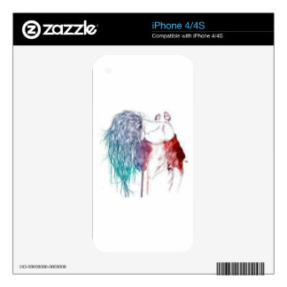 Artistic Skins For The iPhone 4