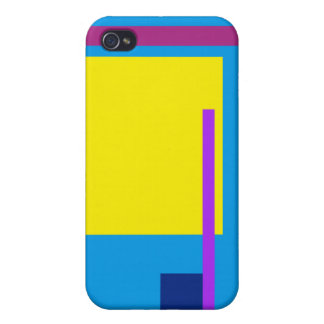 Artistic Space Blue Cover For iPhone 4