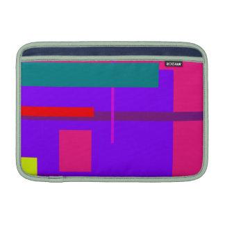 Artistic Space Blue Violet MacBook Sleeve