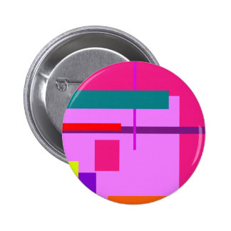 Artistic Space Heliotrope Pinback Button