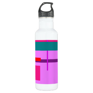 Artistic Space Heliotrope Stainless Steel Water Bottle