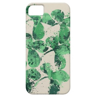 Artistic St Patricks Day Design iPhone 5 Cover