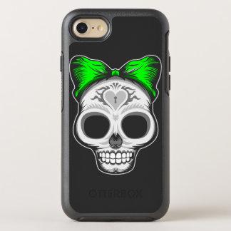Artistic Sugar Skull OtterBox Symmetry iPhone 7 Case