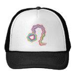Artistic Superstar Leo - Zodiac Astro Symbol Mesh Hats
