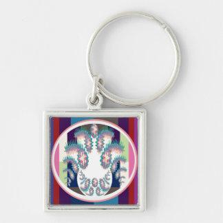 Artistic Superstar Leo - Zodiac Astro Symbol Keychain