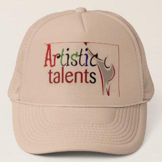 Artistic Talents Logo Clothing Trucker Hat