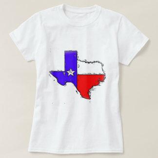 Artistic Texas state flag T-shirts