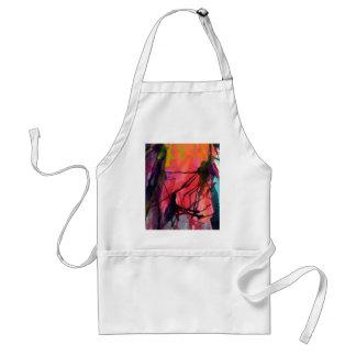 Artistic Texture, Colour Pattern Adult Apron