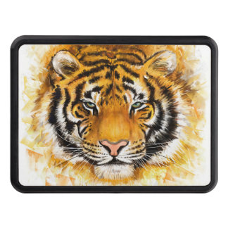 Artistic Tiger Face Hitch Cover