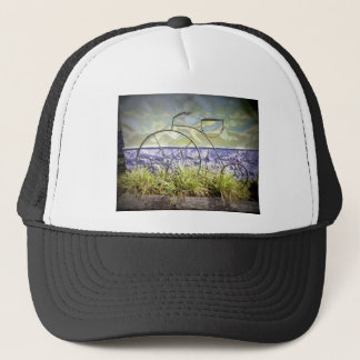 Artistic Tricycle Trucker Hat