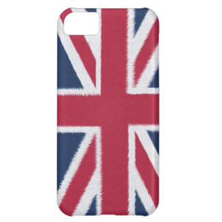 Artistic UK Flag Cover For iPhone 5C