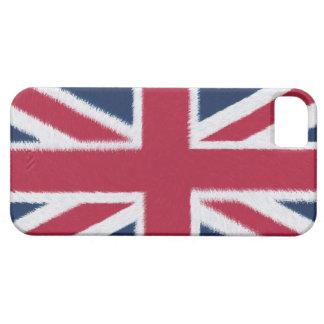 Artistic UK Flag iPhone SE/5/5s Case