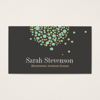 Artistic Unique Creative Designer Business Card