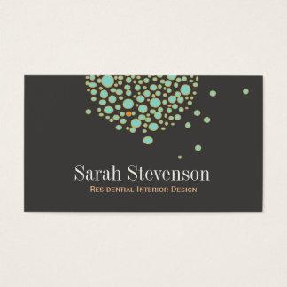 Artistic Unique Creative Designer Business Card