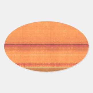 ArtistIC  UNIQUE Golden Pattern Lowprice NVN294 Oval Sticker