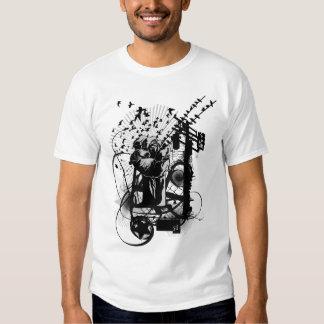 Artistic Urban Style Fist Artistic Illustration. T Shirts