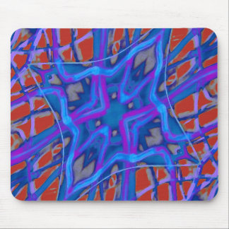 Artistic Vibrant Texture Mouse Pad