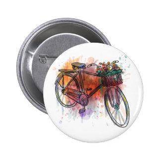 Artistic Vintage Bike Button