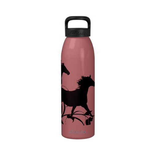 Artistic Wild Horse Foal Drinking Bottle
