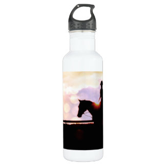 Artistic Wild Horse Foal Stainless Steel Water Bottle