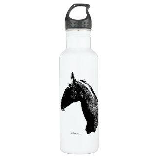 Artistic Wild Horse Foal Water Bottle