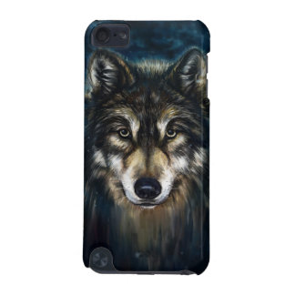 Artistic Wolf Face iPod Touch 5G Case
