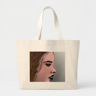 ARTISTIC WOMAN LARGE TOTE BAG