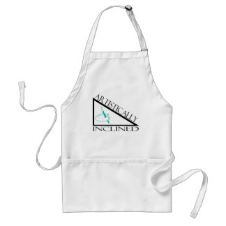 Artistically Inclined Adult Apron