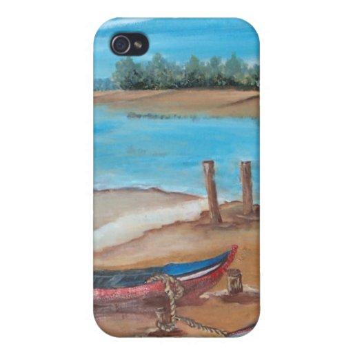 artístico iPhone 4 funda