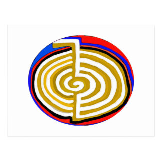 Artístico puro - símbolo de REIKI Karuna Postal