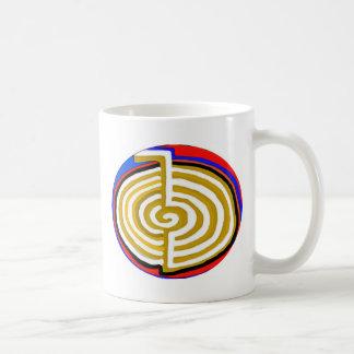 Artístico puro - símbolo de REIKI Karuna Taza De Café