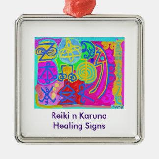 Artístico - símbolos de Reiki Karuna Ornamento De Reyes Magos
