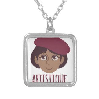 Artistique Silver Plated Necklace