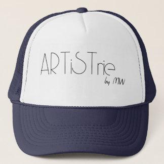 ARTiSTrie by MW LogoSnapback Trucker Hat