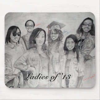 ARTiSTrie by MW Mousepad - Ladies of '13