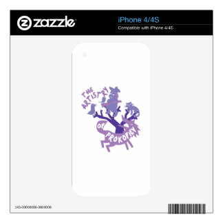 Artistry of Prokofiev Decal For The iPhone 4S