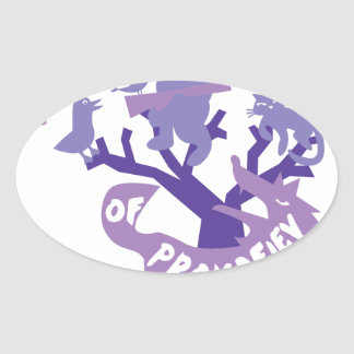Artistry of Prokofiev Oval Sticker