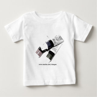 Artist's Acrylic Paint Tubes Picture Baby T-Shirt