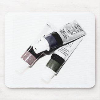 Artist's Acrylic Paint Tubes Picture mousepad