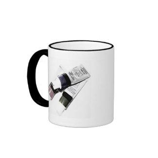 Artist's Acrylic Paint Tubes Picture mug