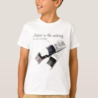 Artist's Acrylic Paint Tubes Picture T-Shirt