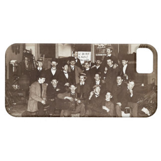 Artists and Friends of John French Sloan in Studio iPhone 5 Cover